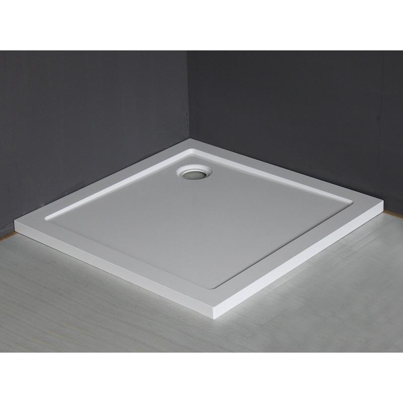 Wiesbaden Mould douchebak 90x90 cm vierkant wit