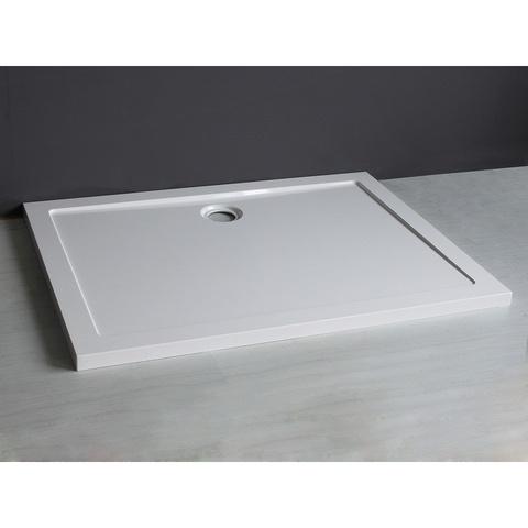 Wiesbaden Mould SMC douchebak 120x90 cm rechthoekig wit