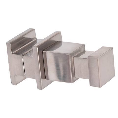 Blinq Altare S haak voor radiator m/vierkante buizen 2x6 cm. rvs