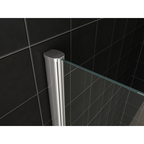 Wiesbaden Comfort inloopdouche combinatie 130cm x 80cm