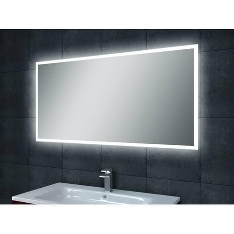 Wiesbaden Quatro spiegel 120x60 cm met rondom indirecte LED verlichting & verwarming