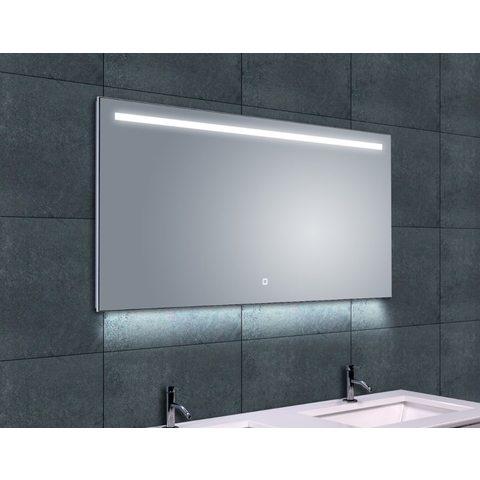 Wiesbaden Ambi one spiegel 120x60 cm met horizontale directe & indirecte LED verlichting & verwarming
