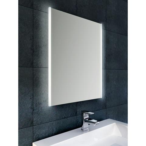 Wiesbaden Duo spiegel 50x70 cm met verticale indirecte LED verlichting & verwarming