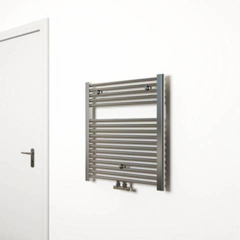 Wiesbaden Elara handdoekradiator 76,6 x 60 cm (H x L) chroom