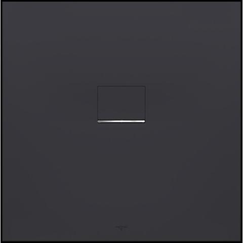 Villeroy & Boch Squaro Infinity douchebak 90 x 90 x 4 cm antraciet