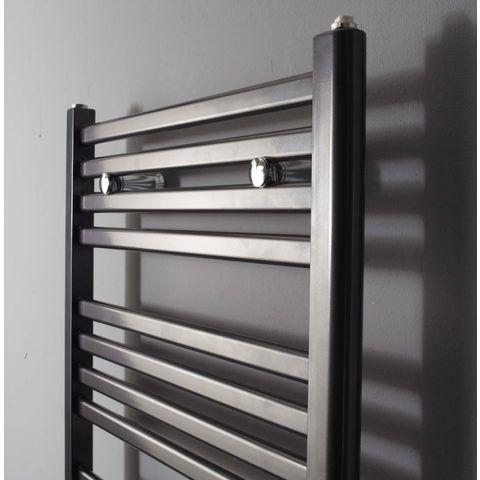 Instamat Calda badkamerradiator 126,4 x 45 cm (H x L) antraciet metallic