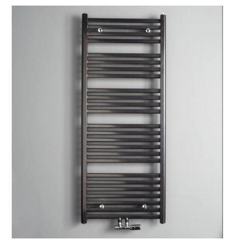 Instamat Calda badkamerradiator 126,4 x 60 cm (H x L) antraciet metallic