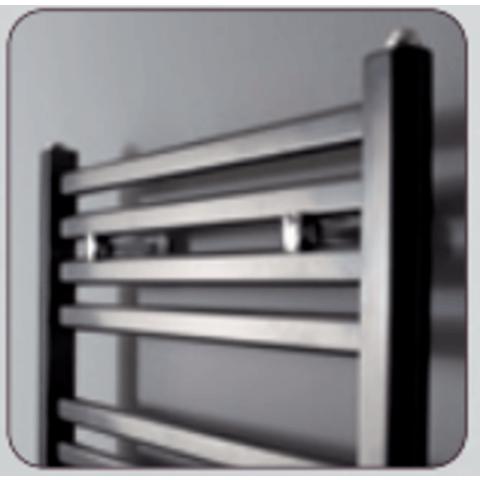 Instamat Calda badkamerradiator 185 x 45 cm (H x L) antraciet metallic