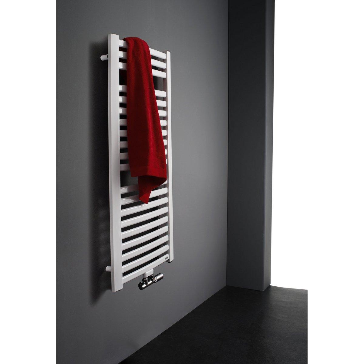Badkamer Radiator Vermogen.Instamat Milano Badkamerradiator 122 X 50 5 Cm H X L Wit