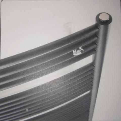 Instamat Nola designradiator 148 x 45 cm (H x L) grijs