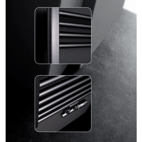 Instamat Rondo Lux badkamerradiator 181 x 76,7 cm (H x L) wit