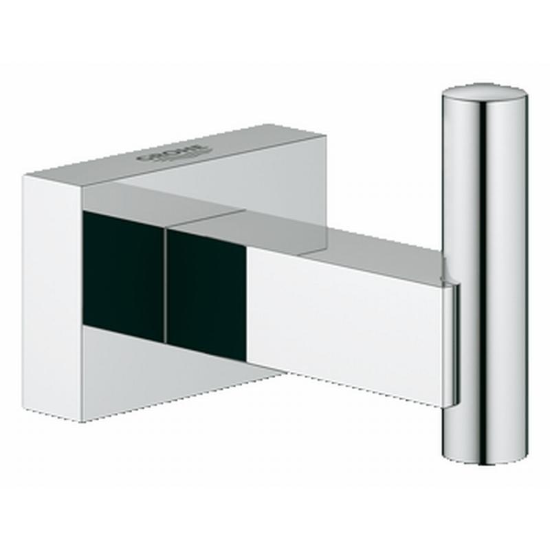 Grohe Essentials cube handdoekhaak chroom