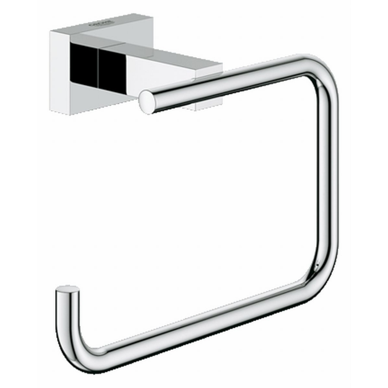 Grohe Essentials Cube toiletrolhouder chroom
