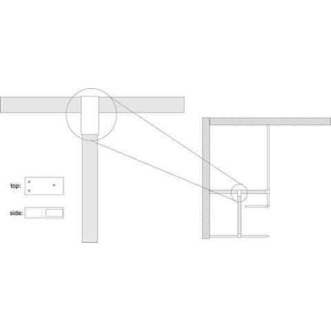 Wiesbaden Comfort T-koppeling chroom
