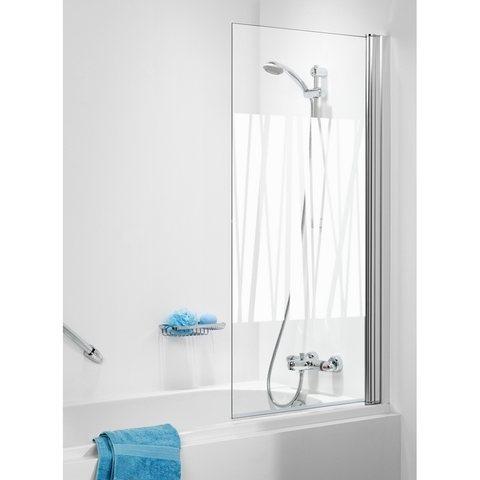 Sealskin Get Wet 105 badwand 1-delig 70cm x 140cm Kabana glas