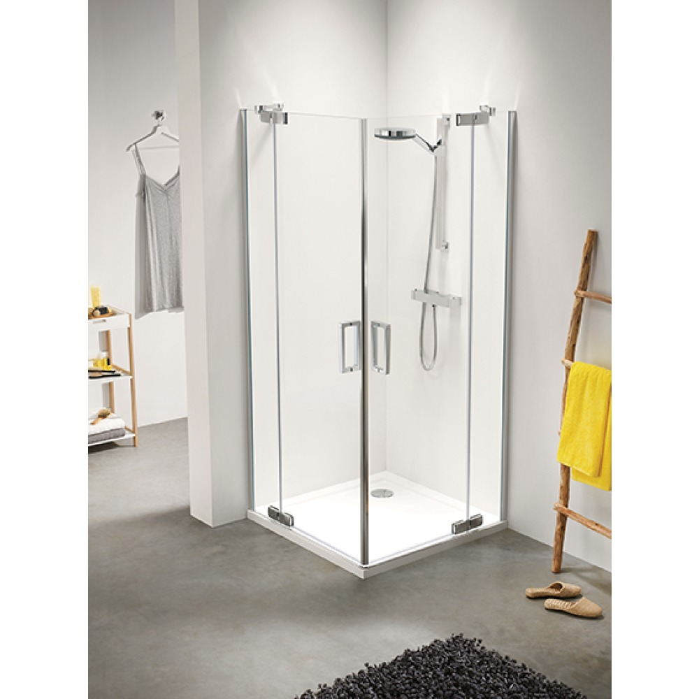 Bedwelming Sealskin Get Wet Custom douchecabine hoekinstap 90x90cm CP50090D260100 QW02