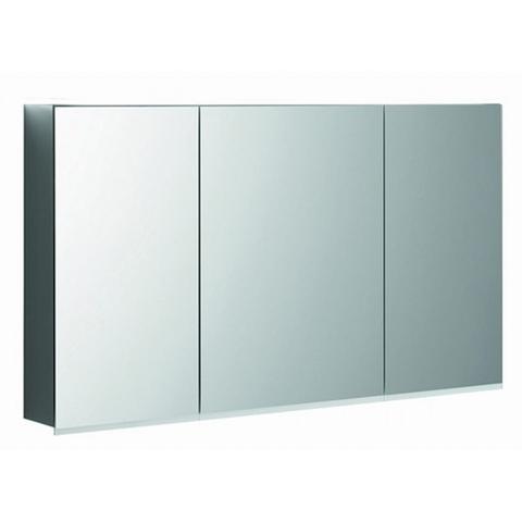 Geberit Option spiegelkast led verlichting 3 deuren 120x70x15cm
