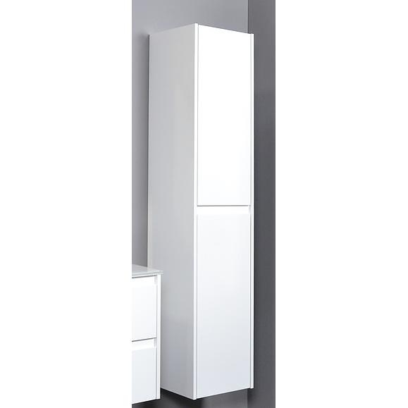 Proline Greeploos 46 hoge kast 2 deuren greeploos (universeel) - HG wit xmm (bxd)