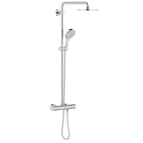Grohe Rainshower douchesysteem - hoofddouche 21cm - chroom
