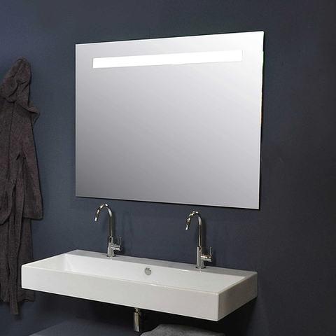 Ink spiegel SP2 140 x 80 cm met horizontale LED verlichting en sensorschakelaar