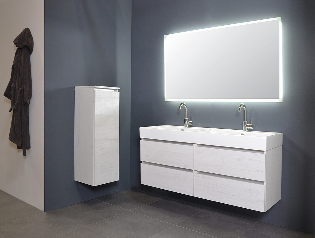 Favoriete Ink spiegel SP7 120 x 80 cm met rondom indirecte LED verlichting NO12