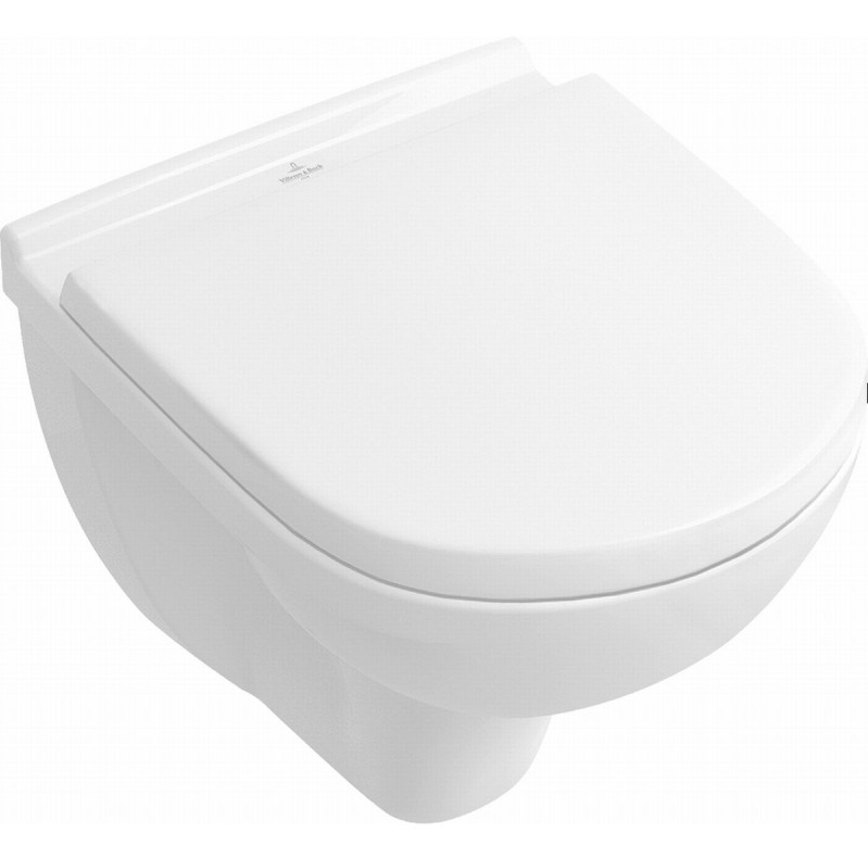 Villeroy & Boch O.novo wandcloset Compact CeramicPlus met zitting SC + QR