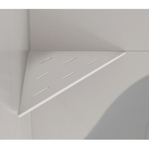 Looox Corner shelf hoekplanchet 30 x 22 cm. wit
