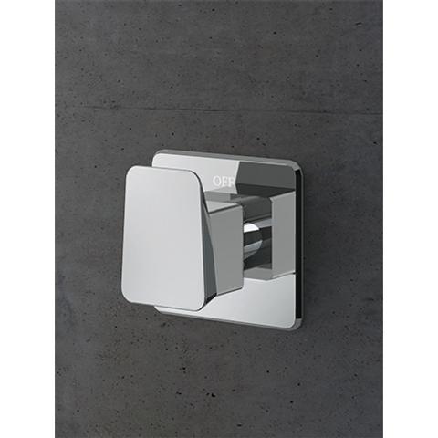 Hotbath Bro! 010 Inbouw stopkraan chroom voor BR007 & BR012