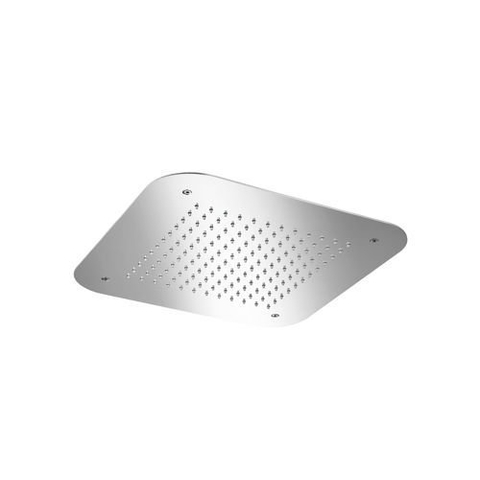 Hotbath Mate M147 hoofddouche inbouw 42x42 cm geborsteld nikkel