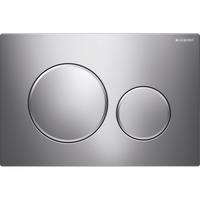 Geberit Sigma 20 bedieningsplaat plaat-ring-knop : glans chroom-matchroom-glans chroom