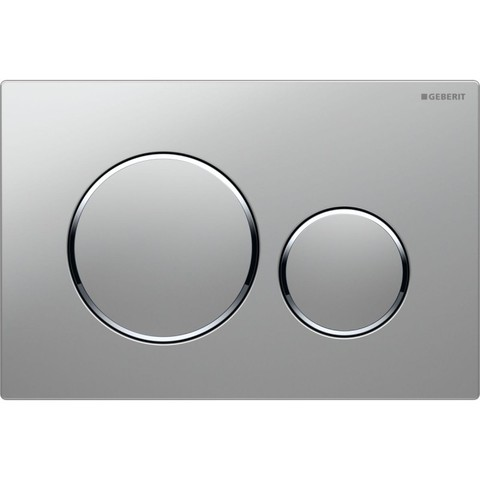 Geberit Sigma 20 bedieningsplaat plaat-ring-knop : matchroom-glans chroom-matchroom