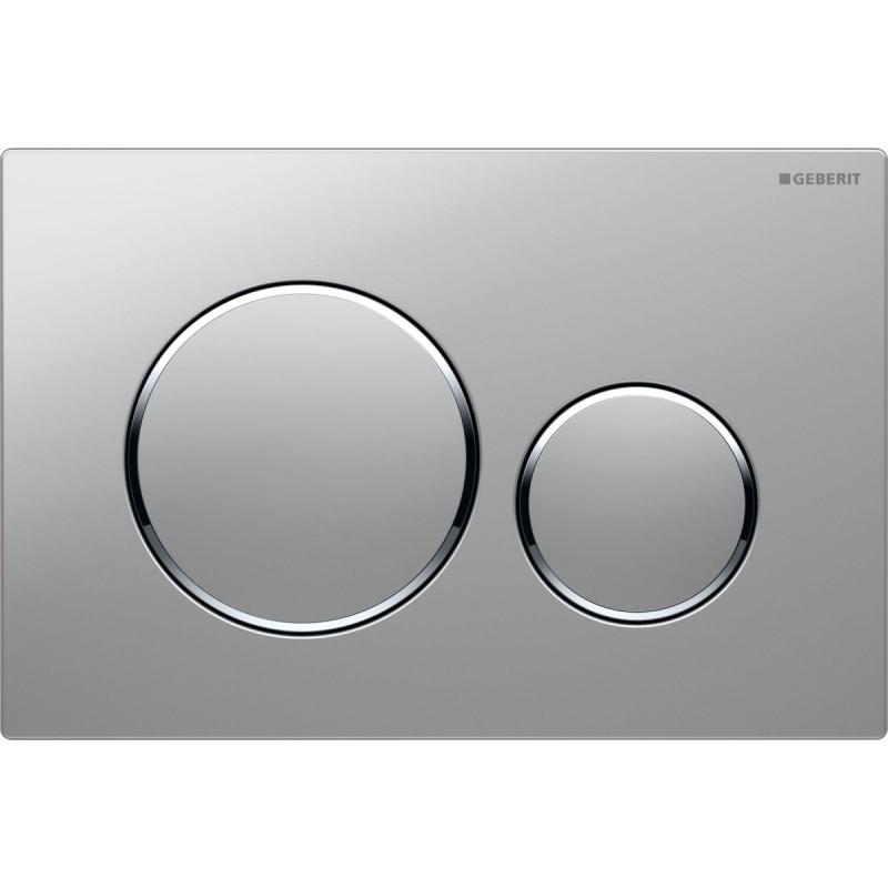 Geberit Sigma 20 bedieningsplaat plaat-ring-knop : matchroom-glans chroom-matchroom