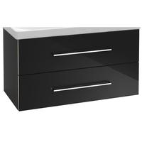 Villeroy & Boch Avento wastafelonderkast 96,7x52x44,7 cm met 2x lade Crystal Grey