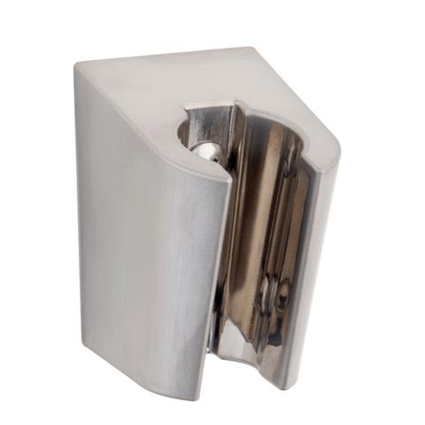 Wiesbaden Caral handdouchehouder kunststof geborsteld staal
