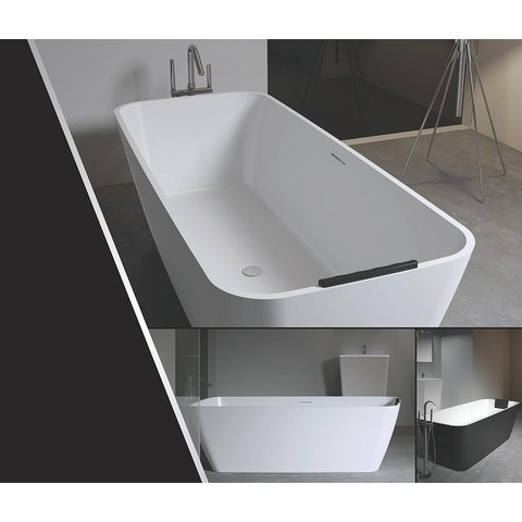 Riho Malaga vrijstaand bad 160x75cm Solid Surface
