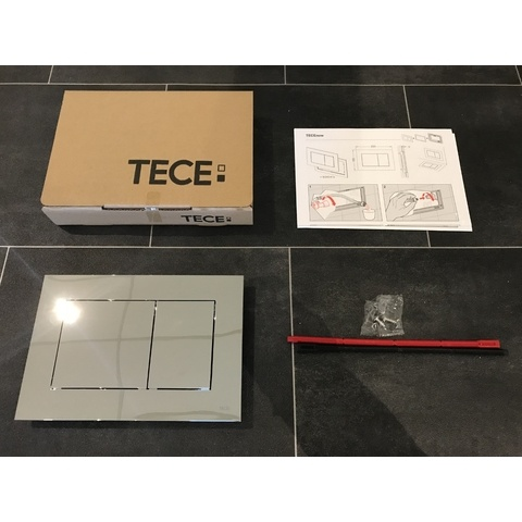 Tece Now bedieningsplaat glans-chroom