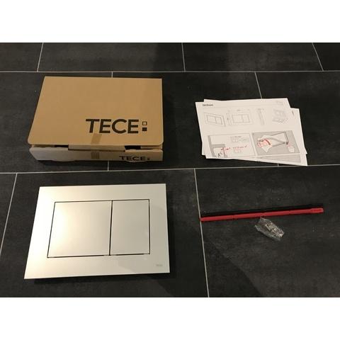 Tece Now bedieningsplaat mat-chroom