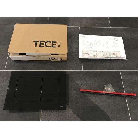 Tece Now bedieningsplaat glans-zwart