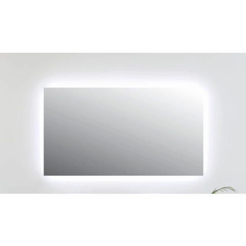 Ink spiegel SP5 140 x 80 cm met rondom indirecte LED verlichting en sensorschakelaar