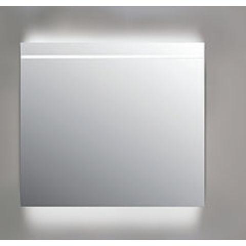 Ink spiegel SP6 80 x 80 cm met indirecte boven/onder LED verlichting, geïntegreerde horizontale LED verlichting en sensorschakelaar
