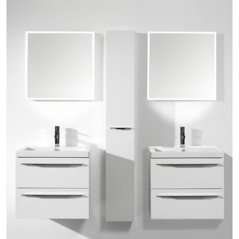 Thebalux Square LED spiegel 60cm