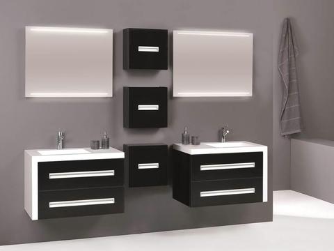 Thebalux Line LED spiegel 160cm (65cm hoog) zonder spiegelverwarming