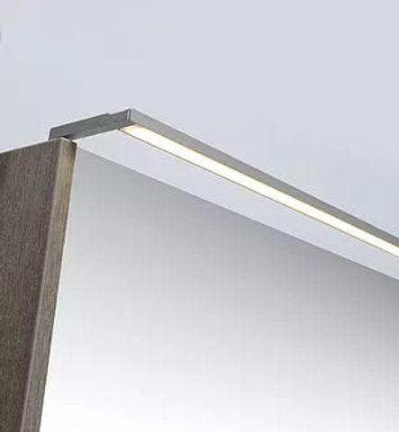 Ink LED verlichtingsbalk 60x2x1 cm aluminium