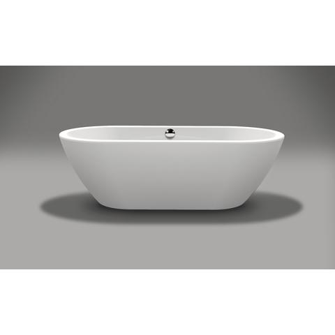 Xenz Rens vrijstaand bad 190x90cm glans wit