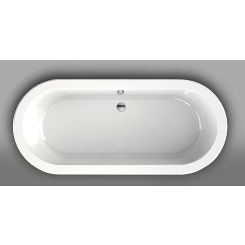 Xenz Luca vrijstaand bad 180x80cm glans wit
