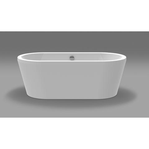 Xenz Noa vrijstaand bad 170x80cm glans wit