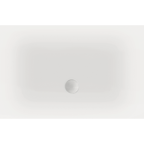 Xenz Flat douchevloer 100x80 cm wit
