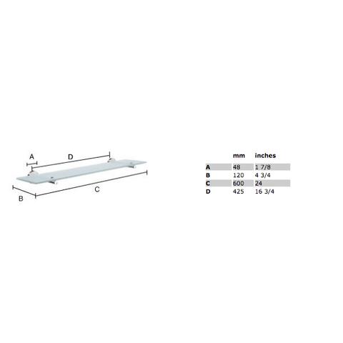 Smedbo Home planchet mat-chroom