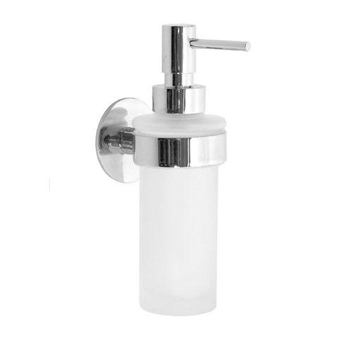 Smedbo Time zeepdispenser matglas chroom
