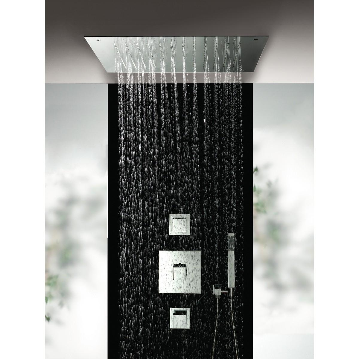 Hotbath bloke doucheset met plafonddouche